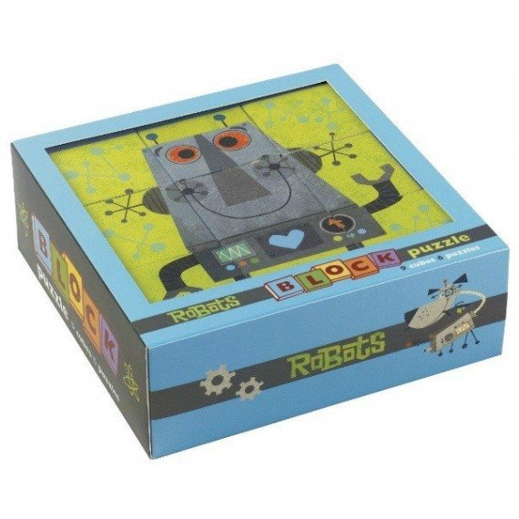 Cubes Robots - 9 cubes - Mudpuppy