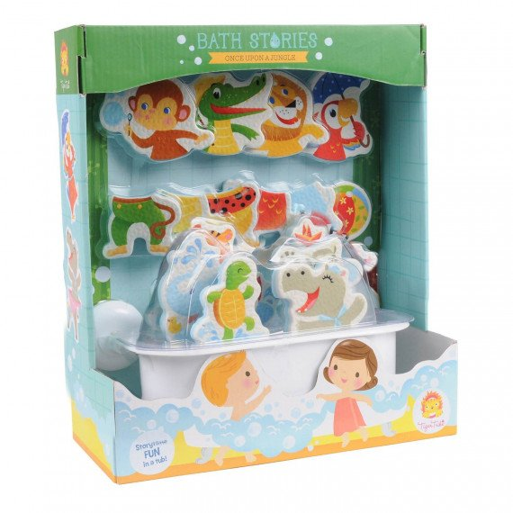 "Figurines de bain ""Jungle"" - Tiger Tribe - boite"
