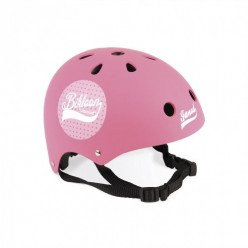 Casque rose à pois Bikloon