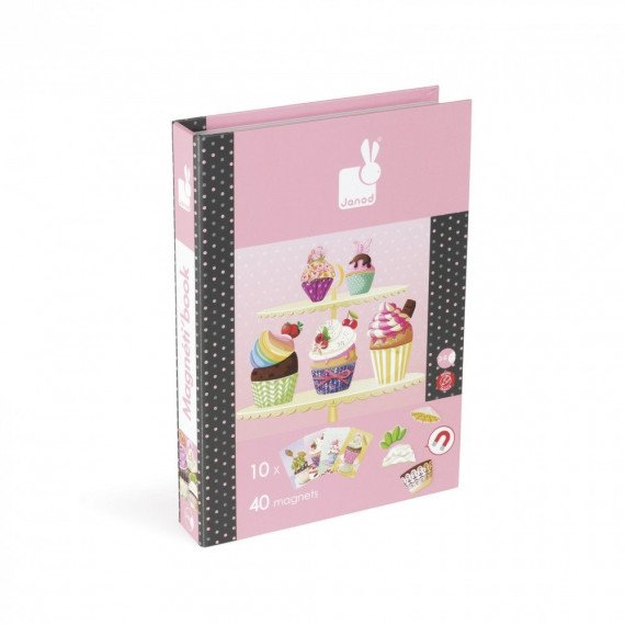 """Magnetibook """"Cup Cakes"""" - Janod"""