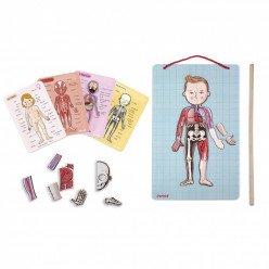 Jeu magnétique éducatif - Body Magnet L'Anatomie