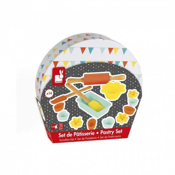 """Set de Pâtisserie """"Happy Day"""" - Janod - boite"""