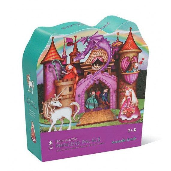 """Puzzle """"Château de Princesse"""" - 30 pièces - Crocodile Creek - boite"""