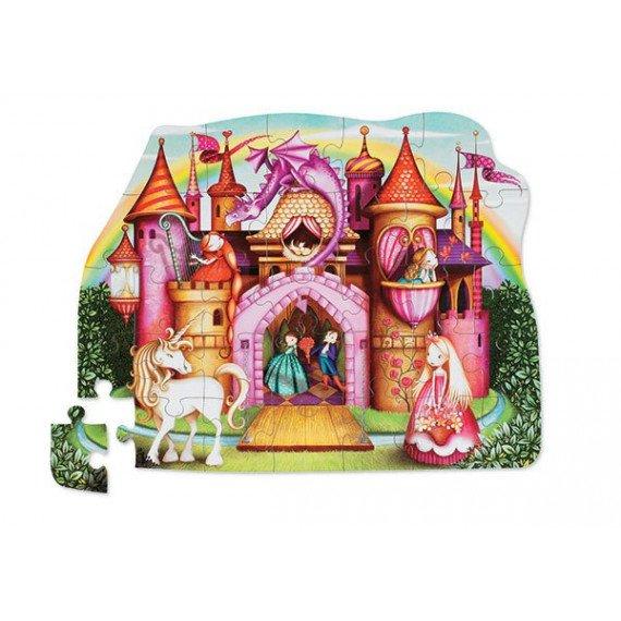 "Puzzle ""Château de Princesse"" - 30 pièces - Crocodile Creek"
