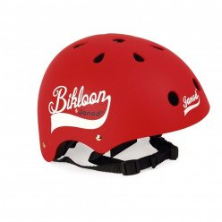 Casque rouge Bikloon