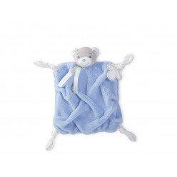 Doudou Ourson bleu - Plume