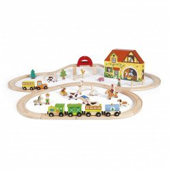 Circuit petit train - Story Express Ferme