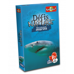 Jeu de cartes - Défis Nature Animaux marins