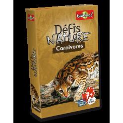 Jeu de cartes - Défis Nature Carnivores