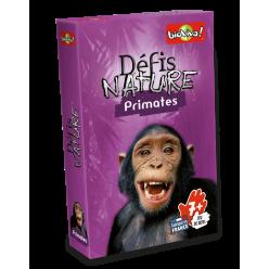 """Défis Nature """" Primates """" - Jeu de cartes - Bioviva - boite"""
