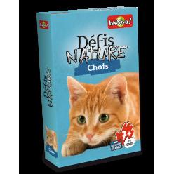 Jeu de cartes - Défis Nature Chats