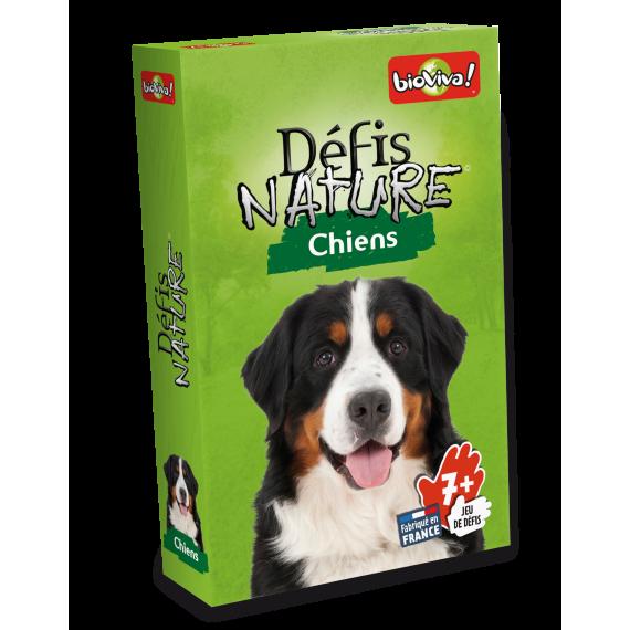 """Défis Nature """" Chiens """" - Jeu de cartes - Bioviva - boite"""