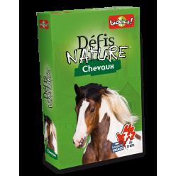 """Défis Nature """" Chevaux """" - Jeu de cartes - Bioviva - boite"""