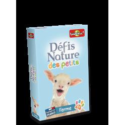 Jeu de cartes - Défis Nature des Petits - Ferme