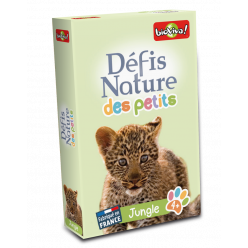 Jeu de cartes - Défis Nature des Petits Jungle