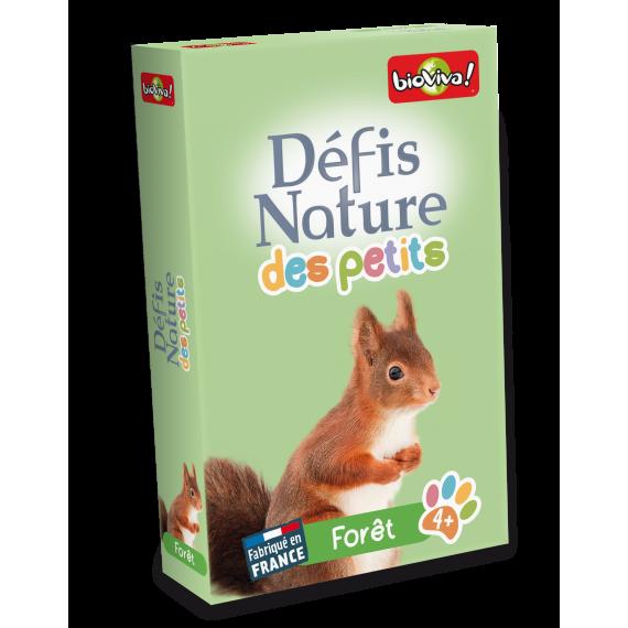 """Défis Nature des Petits """" Forêt """" - Jeu de cartes - Bioviva - boite"""
