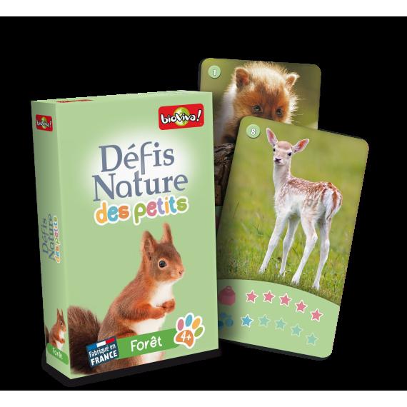 """Défis Nature des Petits """" Forêt """" - Jeu de cartes - Bioviva"""