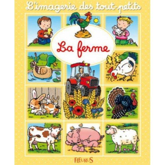 """L'imagerie des tout petits """" La ferme """" - Fleurus"""