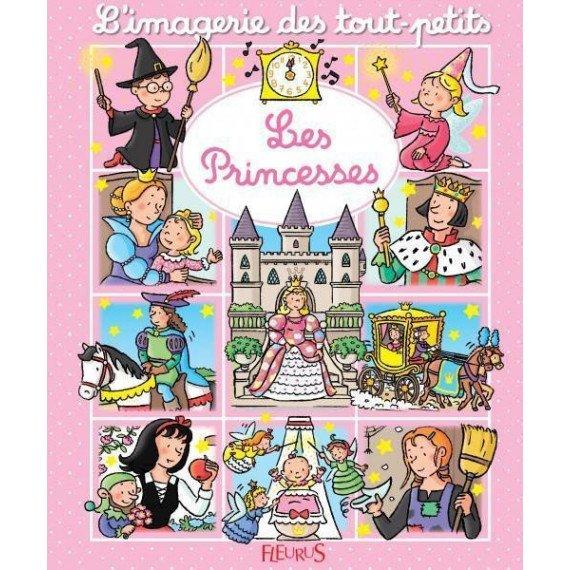 """L'imagerie des tout petits """" Les princesses """" - Fleurus"""