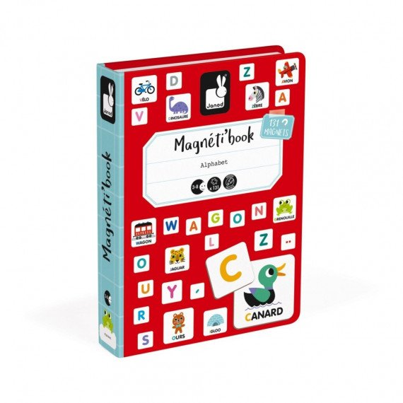 Magnéti'Book Alphabet francais - Janod