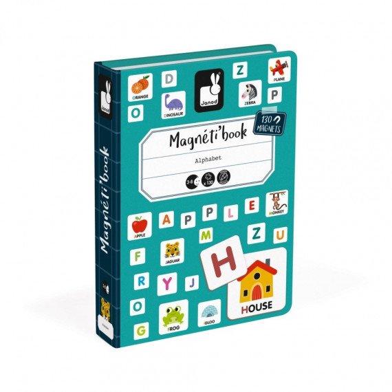 Magnéti'Book Alphabet anglais - Janod