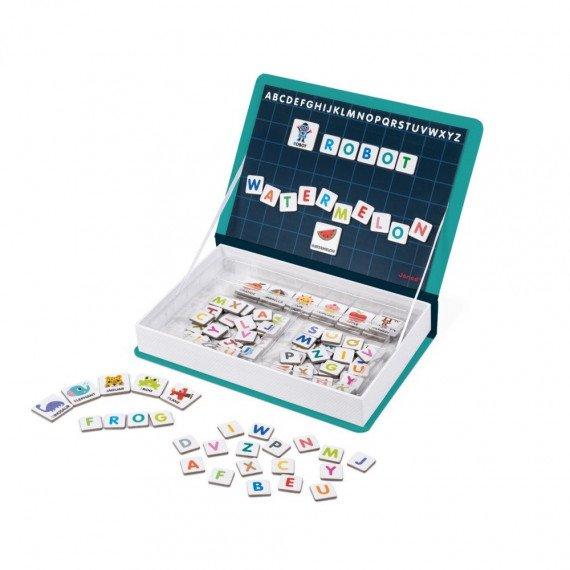 Magnéti'Book Alphabet anglais ouvert - Janod