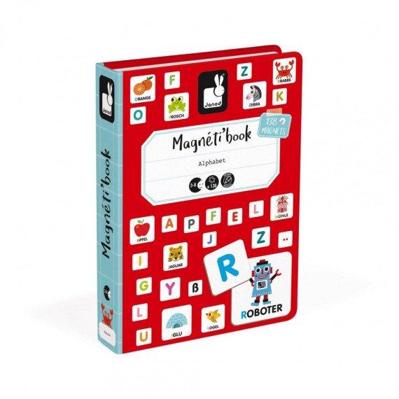 Magnéti'Book Alphabet allemand - Janod
