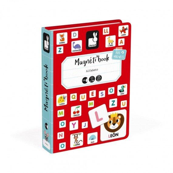 Magnéti'Book Alphabet espagnol - Janod