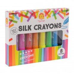 Crayons de soie - Arc en Ciel