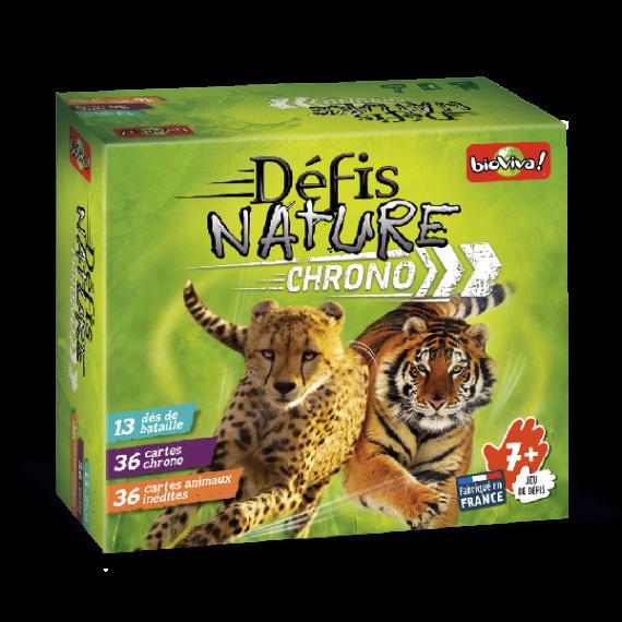 """Jeu """"Défis Nature Chrono"""" - Bioviva - boite"""