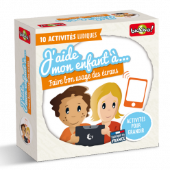 Coffret de jeux - J'aide mon enfant à... Faire bon usage des écrans