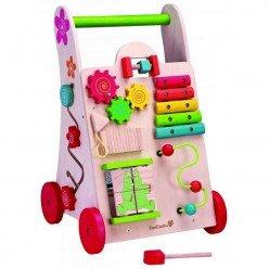 Chariot de marche avec jeux