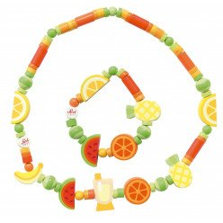 Parure de bijoux pour enfant Fruits exotiques - SEVI