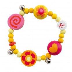 Bracelet en bois pour enfant Daisy - Sevi