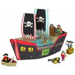 """Bateau pirate 3D """" Cooper """" - Krooom"""