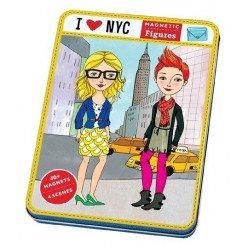 "Jeu magnétique "" I love New York "" - Mudpuppy"