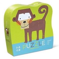 Puzzle Singe - 12 pièces - Crocodile Creek