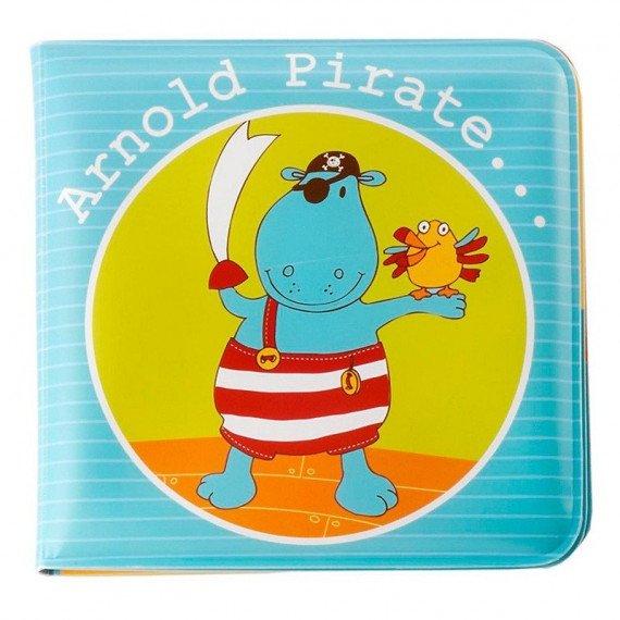 """Livre de bain """" Arnold le Pirate """" - fermé - Lilliputiens"""