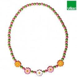Bracelet en bois pour enfant Fleurs